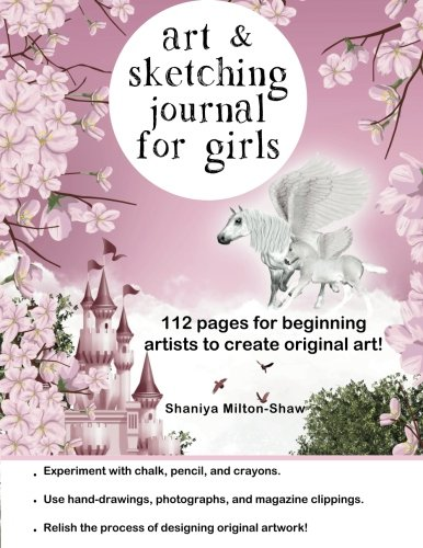 Read Online Art and Sketching Journal for Girls pdf epub
