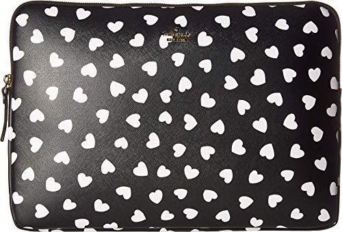 Kate Spade New York Heartbeat Universal Laptop Sleeve, Black/Cream, One Size by Kate Spade New York (Image #2)