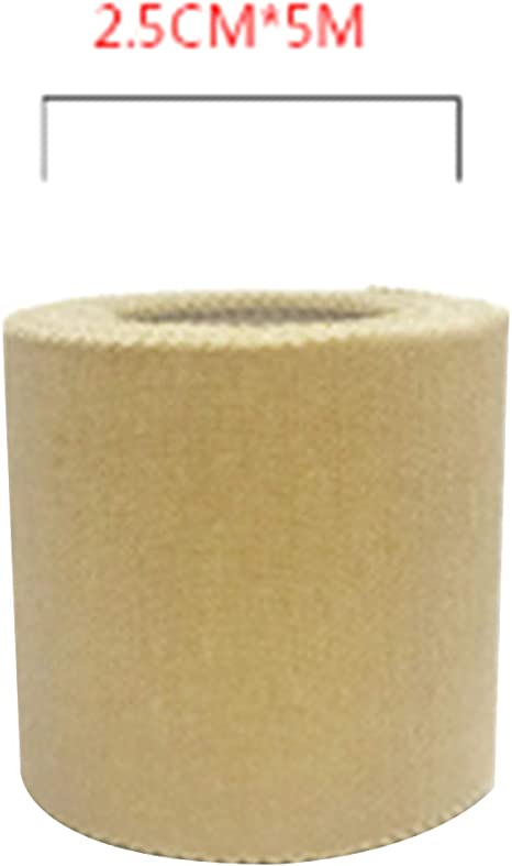 Iruixindi - Cinta Adhesiva de 5 m (1,25/2,5/5 cm, algodón), Color ...