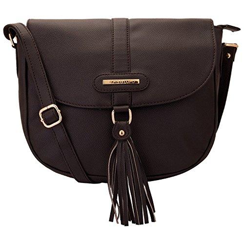 0b73e18b2b616 Lapis O Lupo Vintage Muse Damen Schultertasche Braun Designer Satchel  Taschen mit Multi Pocket