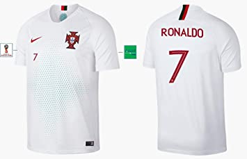 Portugal Trikot Herren WM 2018 Away Ronaldo 7:
