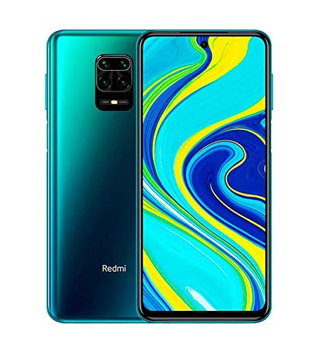 Smartphone Xiaomi Redmi Note 9S - 4GB + 64GB - Versão Global - Aurora Blue