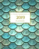 capa de 2019 Planner Weekly and Monthly
