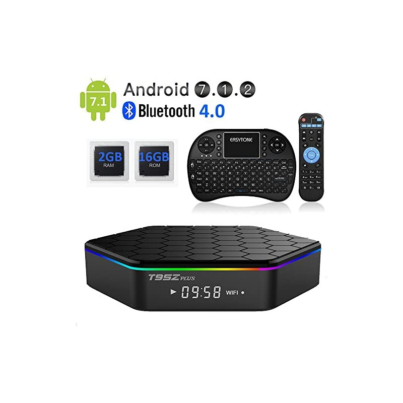 EASYTONE T95Z PLUS Android TV Box,Octa C