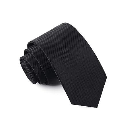 YXN Corbatas Negras/Corbatas/Vestido de Negocios/Entrevista de ...