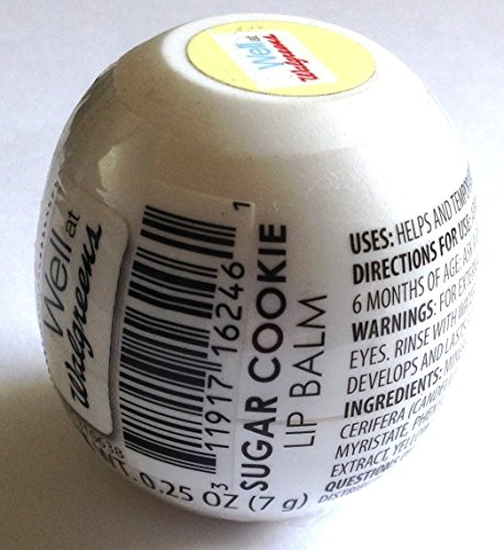 (REVO Sugar Cookie Well at Walgreens Lip Balm Sphere 0.25-oz)