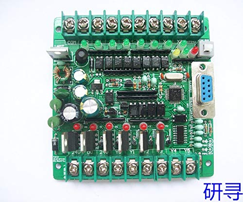 Lysee PLC industrial control board MCU control panel programmable controller solenoid valve contactor drive FX1N-14MT