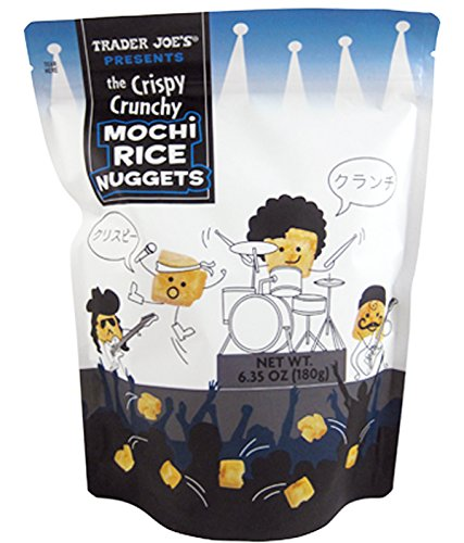 Trader Joe's New The Crispy Crunchy Mochi Rice Nuggets 6.35oz (1 Pack)