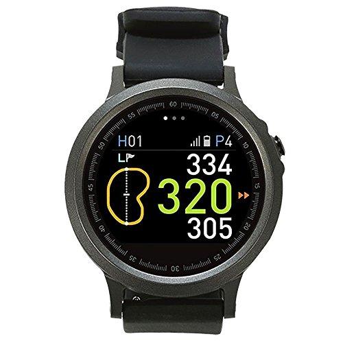 GolfBuddy WTX Smart Golf GPS Watch Black with Bonus Golf Buddy Microfiber Towel by GolfBuddy (Image #1)