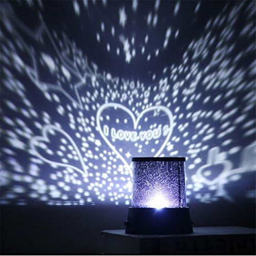 Elaco Celestial Star Cosmos Night Lamp Night Lights Projection Projector Starry Sky - B Base Sunglasses