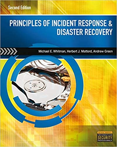 Principles of Incident Response and Disaster Recovery ...