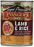 Evanger'S Super Premium Lamb And Rice Dinner For Dogs,13-Ounce Cans / Case Of 12 Review