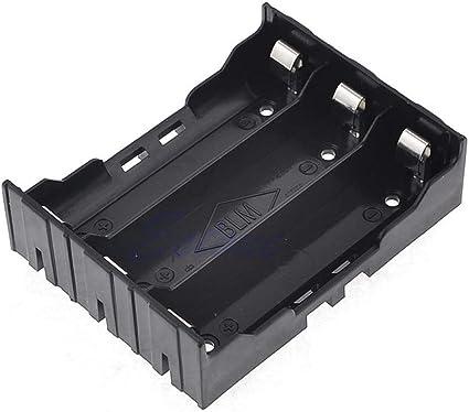 PT-KMKMING Caja de batería de plástico, 3 18650 Caja de batería Recargable, Accesorios de Juguete: Amazon.es: Informática