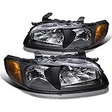 Spec-D Tuning 2LC-COL04G2JM-TM Chevy Colorado GMC Canyon Crystal Black Amber Corner Parking Lights