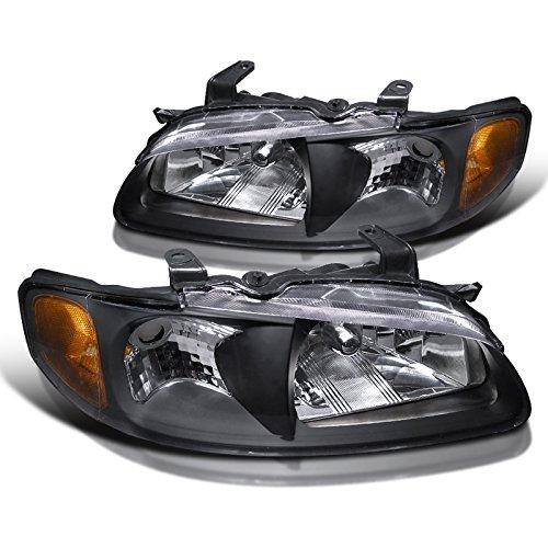 Crystal Black Jdm - Spec-D Tuning 2LH-SEN00JM-RS Nissan Sentra Jdm Black Crystal Head Lights Lamps