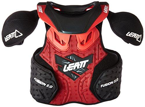 Leatt Fusion 2.0 Jr Protective Vest (Red/Black, Large/X-Large)