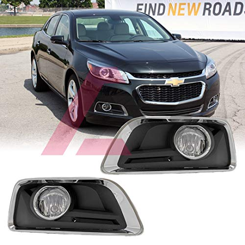 (Winjet WJ30-0513-09 Series for [2013-2015 Chevy Malibu] Driving Fog Lights + Switch + Wiring)