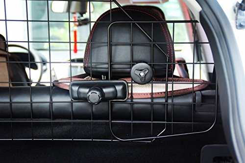 PUPTECK Dog Barrier for SUV Cars - Heavy Duty Adjustable Pet Wire Barrier by PUPTECK (Image #4)