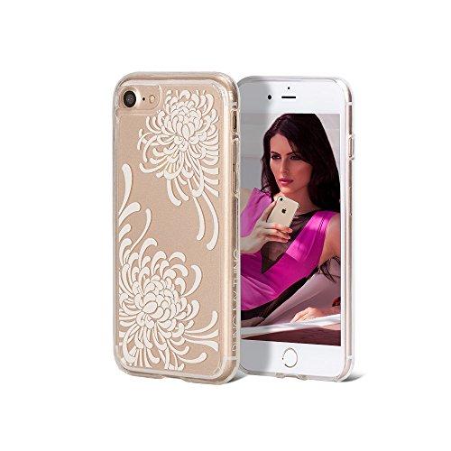 Bling My Thing ip7de EX CL KIK Expression série luxe et design unique avec habillage original Cristaux Swarovski, Clear Case pour Apple iPhone tendance 7Kiku