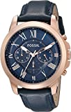 Fossil Men's Grant Quartz Stainless...
