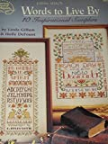 img - for Words to Live By: 10 Inspirational Samplers book / textbook / text book