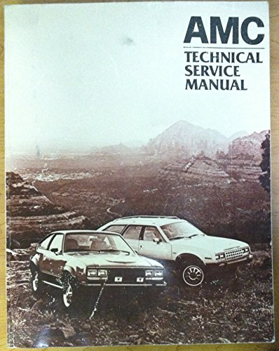 1982 AMC Repair Shop Manual Original Eagle Spirit Concord (Rim Concord)