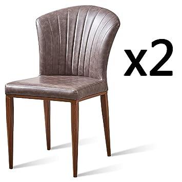 Zy Dining Chair Chaise De Salle à Manger Avec Dossier Confortable