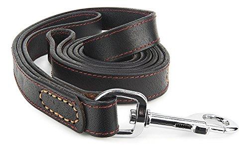 Leather Dog Leash Training Pulling