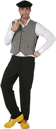 Disfraz hombre chaleco de agricultores, 50 - 60 Gr.: Amazon.es ...