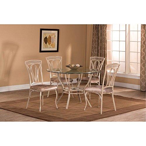 Hillsdale Napier 5-Piece Round Dining Table Set