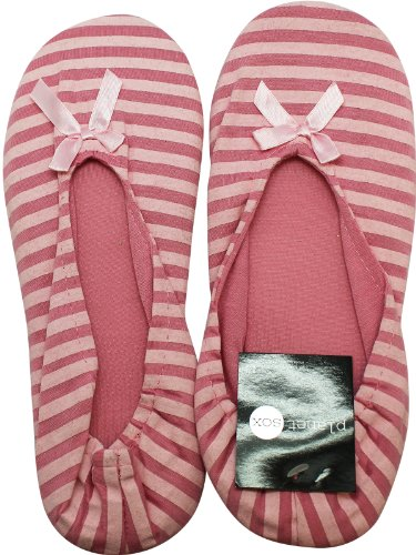 Striped Skimmers Striped Pink Slipper Pink Slipper Cqwvq0Pxr