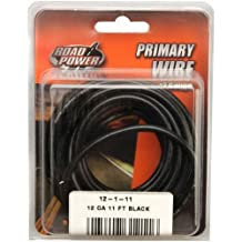 Coleman Cable 12-1-11 11-Foot 12-Gauge Automotive Copper Wire (Black)