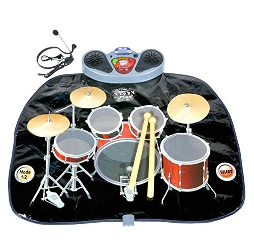 - Rhode Island Novelty Giant Electronic Drum Kit Set Floor Play Mat