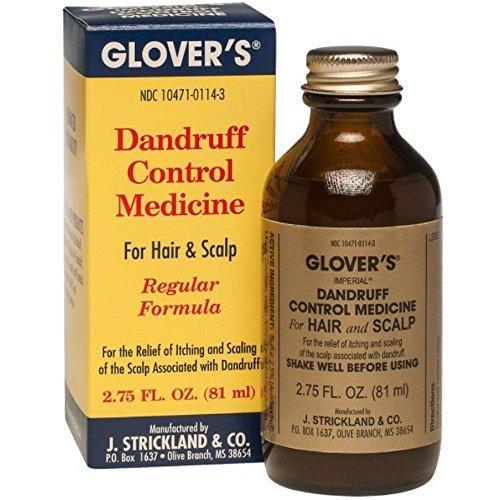 Glovers Dandruff Control Medicine Regular Formula 2.75 oz (Pack of 2)