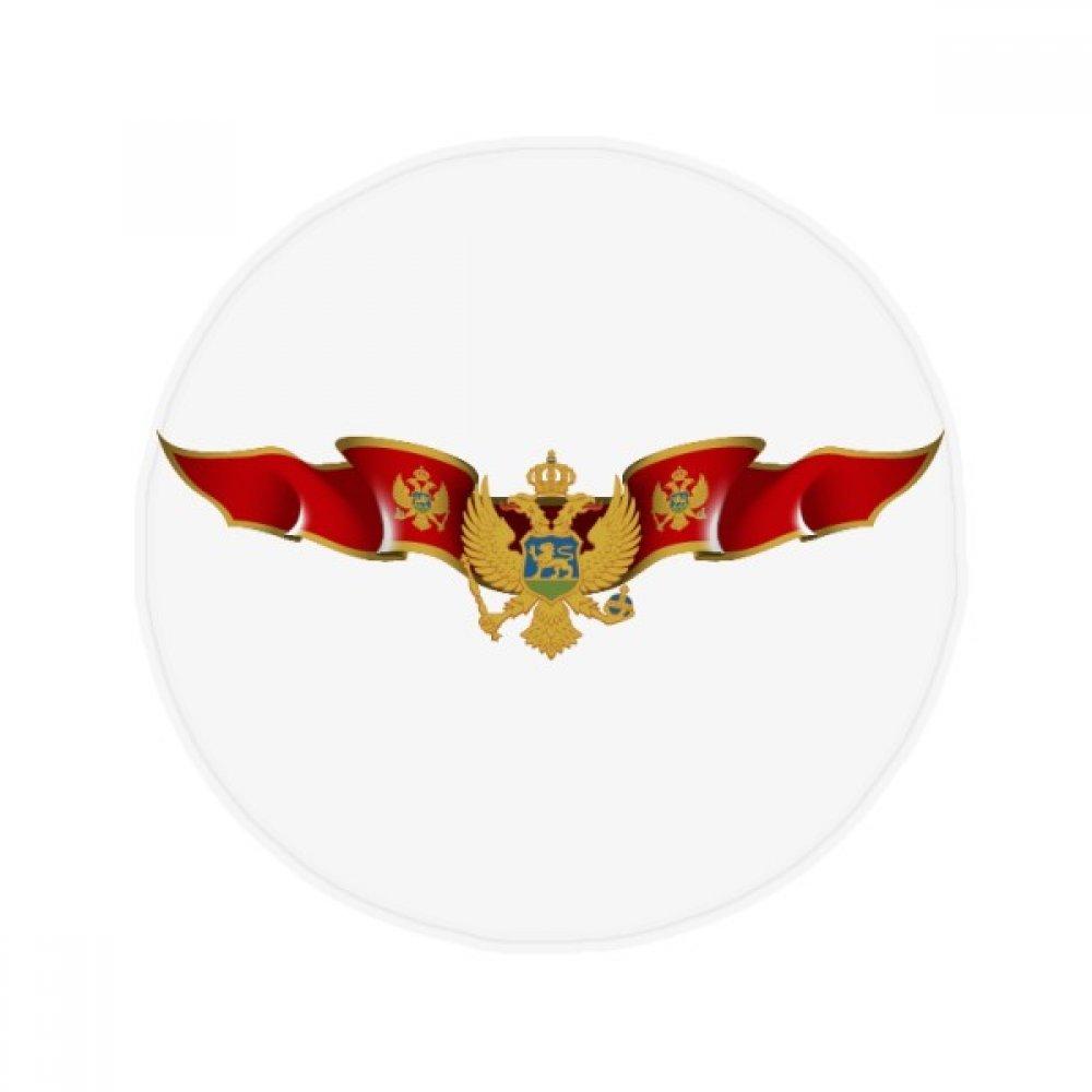 60X60cm DIYthinker Byzantine Flag National Emblem Anti-Slip Floor Pet Mat Round Bathroom Living Room Kitchen Door 60 50Cm Gift