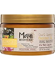 Curl Quench Coconut Oil Curl Smoothie with papaya oil and Plumeria extract Silicon Free