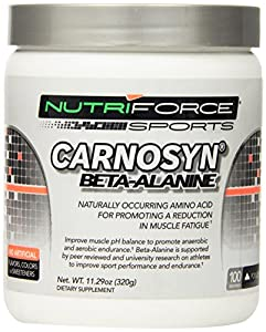 Nutriforce - Carnosyn Beta-Alanine Supplement Powder - (11.29 Ounce)
