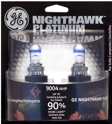 GE NIGHTHAWK PLATINUM 9004 Halogen Replacement Bulb, (Pack of - Replacement Pathfinder Nissan 1995