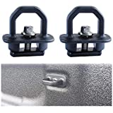 Cargo Tie Down Anchor Compatible 2008-2017 Chevy Silverado GMC Sierra and 2015 Colorado Canyon, Truck Bed Anchors Side Hook Pack of 2
