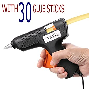 Glue Gun Combo with 30 Glue Sticks (40 Watts)