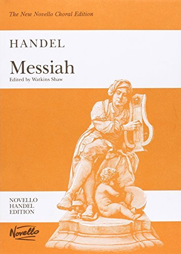 By UNKNOWN G.F. Handel Messiah (Watkins Shaw) - Paperback Edition Vocal Score Choral Edition[Paperback] by UNKN [Paperback] by Novello & Co Ltd