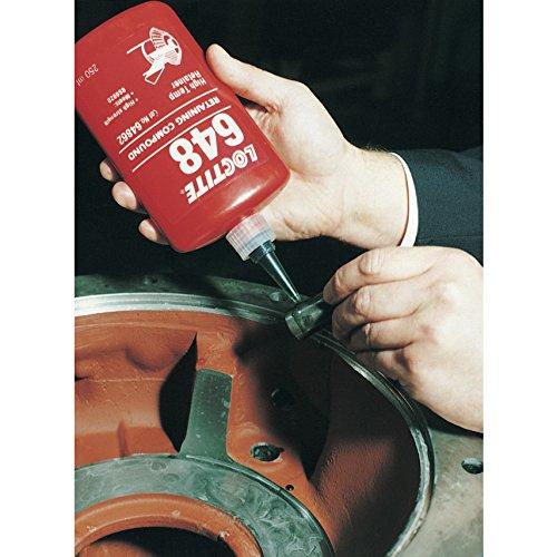 Genuine Henkel Loctite 648 X 250ml Press Fit High Strength Rapid Cure  Retaining Compound Bottle