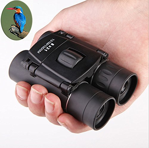 Goldwangwang HD Professional Binoculars Waterproof Wide Field of View Outdoor Telescope for Closer Birdwatching Fully Multi-Coated BaK4, Experience Vivid Color, Black