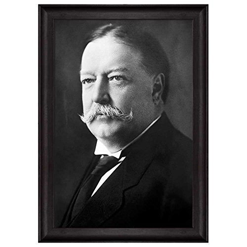 Portrait of William Howard Taft (27th President of the United States) American Presidents Series Framed Art Print
