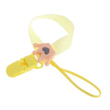 A0127 - Cadena para chupete de bebé, soporte de clip, anillo ...