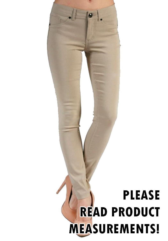 Women's Plus Size 5 Pocket Ponte Pants Jeans Casual Jeggings Curvy Fit