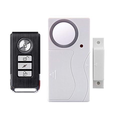 drrerytu - Alarma de Seguridad inalámbrica para Puerta de ...