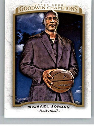 - 2017 Upper Deck Goodwin #35 Michael Jordan Basketball Card