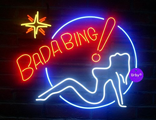 Urby 24x20 larger bada bing girls beer bar neon sign 3 year additional information aloadofball Images
