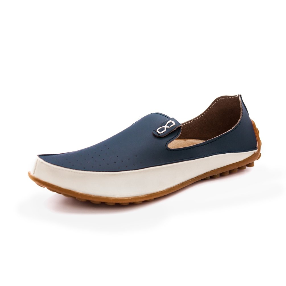 d643652a3dfc33 Chaussure de Ville sans Lacet en Cuir Souple pour Homme Chaussure de Conduite  Casual Résistant à lusure